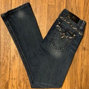 Miss Me signature bootcut stretchy fit jean EUC